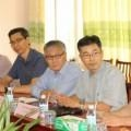 MR LEE JI YANG, DIRECTOR OF TEAM AND TEAM INTERNATIONAL IN VIETNAM VISITS DONG THAP UNIVERSITY