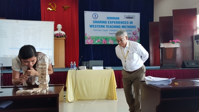 "Seminar on  ""Sharing some experiences in Western Teaching Methods"""