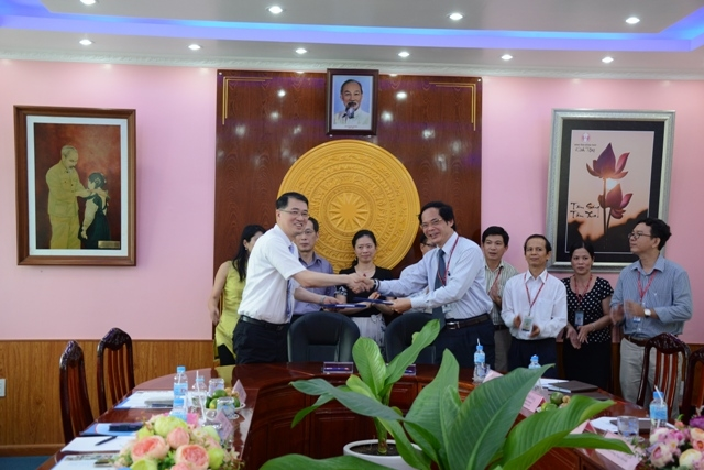 A Memorandum of Understanding between Dong Thap University and Da-Yeh University, Taiwan