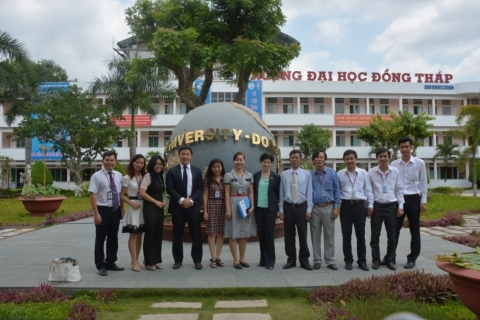 The visit of the delegation from the U.S. Consulate General Ho Chi Minh City