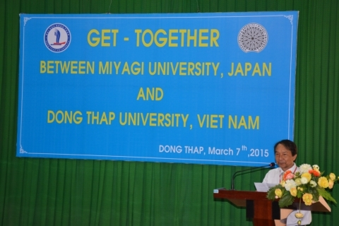 A get-together program between Miyagi University, Japan and Dong Thap University