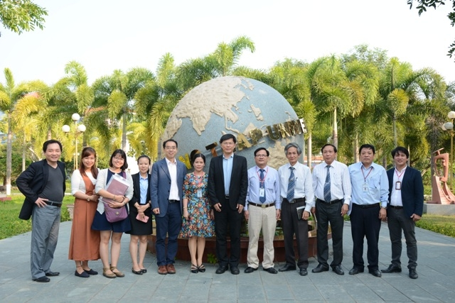 A Memorandum of Understanding between Dong Thap University and National Kaohsiung University of Applied Sciences, Taiwan