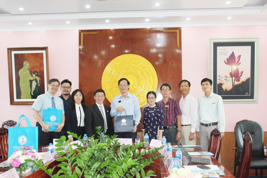 A VISIT OF THE DELEGATION FROM YUAN ZE UNIVERSITY AND BINH MINH EHD. JSC.
