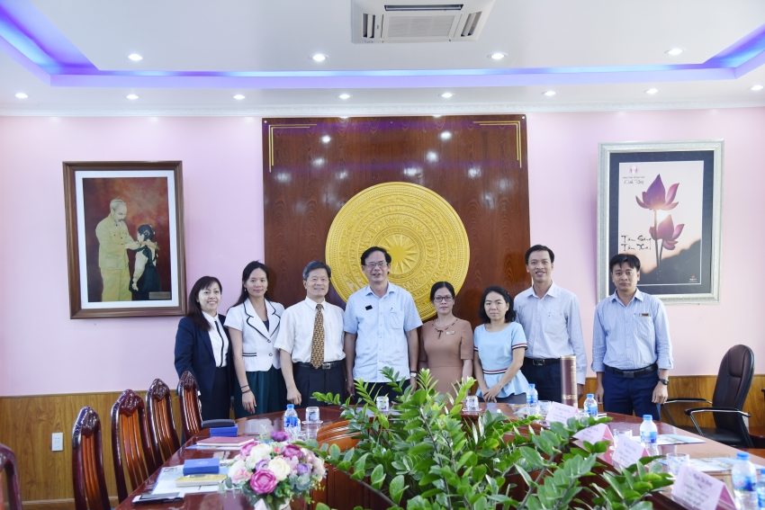 A VISIT OF THE DELEGATION FROM CHIENKUO TECHNOLOGY UNIVERSITY AND BINH MINH EHD. JSC.